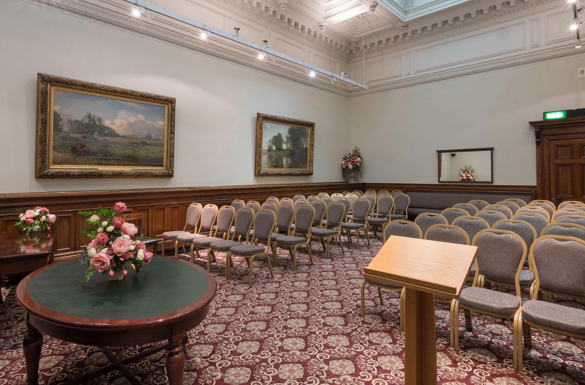 The Grand Jury room