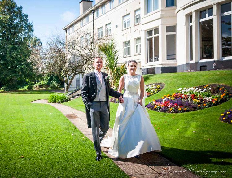Devonshire House hotel wedding