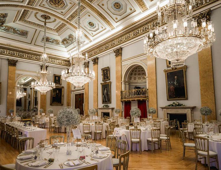 Liverpool Town Hall interior